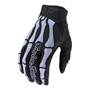 Troy Lee Designs AIR Gloves Skully - Black - Motocross, BMX, MTB, Motorcycle