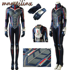 Ant-Man and the Wasp Trailer #2 Hope Van Dyne Cosplay Costume Halloween Full Set