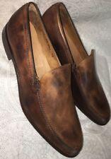 John Varvatos Shoe Marbled brown leather dress shoe  size 12