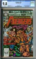 AVENGERS #216 CGC 9.8 WHITE PAGES