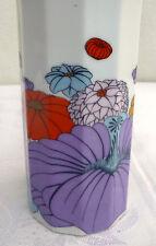 Vintage 1970 ROSENTHAL Studio-Linie Vase PSYCHEDELIC POP ART FLOWERS Wirkkala