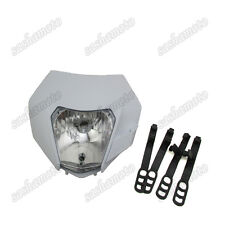 White Headlight For Dirt Bike KTM R SX EXC XC XCF SXF 65 85 105 250 350 450 525