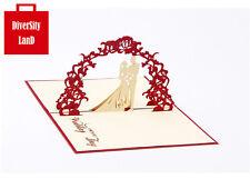 3D Pop Up Greeting Card Handmade Happy Birthday Easter Valentines Day Wedding