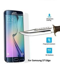 100% Genuine Tempered Glass Film Screen Protector for Samsung Galaxy S7 Edge