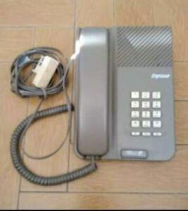 Ancien Téléphone Fixe À Touche Vintage Fonctionnel marque Soprano