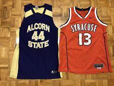 Lot Of 7 NCAA Basketball Jerseys Wholesale Vintage Nike Russell Syracuse College