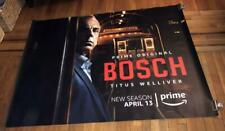 BOSCH 5FT SUBWAY POSTER AMAZON TV Titus Welliver 2018