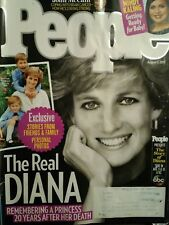 PEOPLE MAGAZINE ISSUE 08/07/2017  THE REAL DIANA REMEMBERING A PRINCESS 20 YEARS