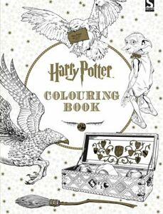 Harry Potter Colouring Book  Kids Adults Fun Activity Gift NEW