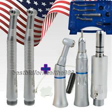 2Hole Dental Handpiece  kit-1 low Speed+2 High Speed Cartridge fit NSK KAVO【USA】
