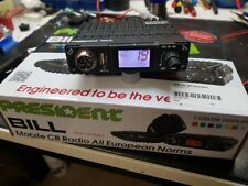 President BILL ASC CB Mobilfunkgerät mit 80 Kanälen AM/FM 4/20W - Modifiziert