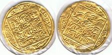 DINAR ALMOHADE SOBRE 1100 A IDENTIFICAR ORO GOLD A1