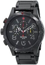 Relojes de pulsera Nixon de acero inoxidable de día y fecha