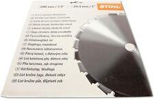 "NEW!!! Stihl Chisel Tooth Circular Saw Blade 200 mm/7.9"""