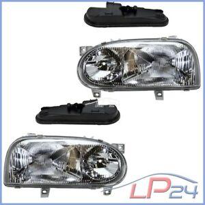 2x PHARE PRINCIPAL H1/H1 AVANT GAUCHE + DROIT VW GOLF 3 1H + BREAK + CABRIO 1E