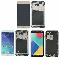 For Samsung Galaxy J7 2015 J700M J700F LCD Display Screen Touch Digitizer Frame