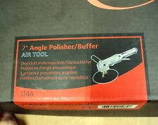 "INGERSOLL RAND ~ IR 314A ~ 7"" ANGLE POLISHER / BUFFER Air Tool ~ NEW!"
