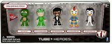 TUBE HEROES 5pk Mini Figures NEW IN BOX