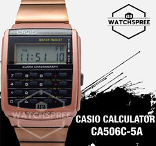 Casio Calculator Watch CA506C-5A