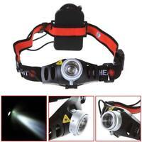 8000 LM  Q5 LED Ultra Bright Zoomable Flashlight Headlamp Headlight BTA KS