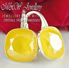 925 Silver Earrings BUTTERCUP Fancy Stone 10mm Crystals From Swarovski®