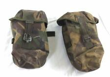 2 x British army surplus DPM utility/canteen IRR webbing pouches