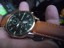nice gents military style quartz  watch
