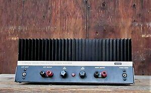 Vintage Harman/Kardon Citation Twelve 12 Stereophonic Power Amplifier For Repair