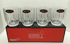 Riedel Anguri Double Old Fashion Whisky Crystal Glasses -Set of 4