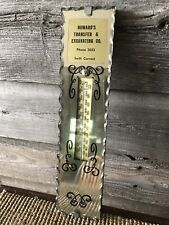 Vintage Thermometer Swift Current Saskatchewan Thermometer