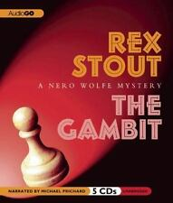 The Gambit : A Nero Wolfe Mystery by Rex Stout (2012, CD)