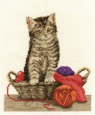 DMC Cross Stitch Kit - Cats - Fun Time