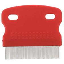 aux puces a dents fines propre peigne Chien Chat Brosse a cheveux Soft Prot O9V3