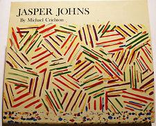 JASPER JOHNS/M.CHRICHTON/CATALOGUE WHITNEY MUSEUM/ED ABRAMS/1977/