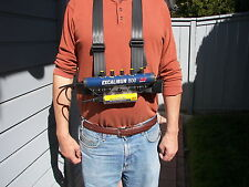 Plugger's Deluxe Chest Mount Harness for Minelab Excalibur  New Design!