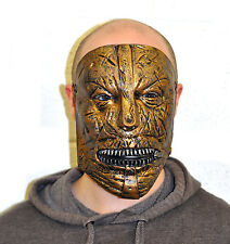 Slipknot army style latex maggot mask halloween fancy dress Adult Corey Taylor