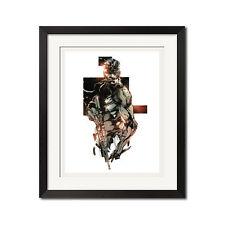 Metal Gear Solid Snake Urban Art Poster Print