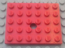 LEGO vintage plaque trouée / Plate with hole 5 x 6 / 374 310 332 337 377 372 371
