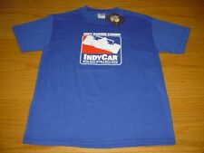 NEW WT INDY INDIANNAPOLIS MOTOR SPEEDWAY T-SHIRT BOYS XL 14/16 BLUE COTTON
