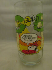 Camp Snoopy Glass Morning People Are Hard To Love McDonald's
