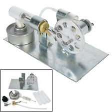 Mini Hot Air Stirling Engine Motor Model Steam Power Toy Physics Experiment