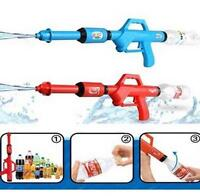 2 x Cola Water Gun Fight Blaster Super Soaker Toy Shooter Fits Screw Top Bottles