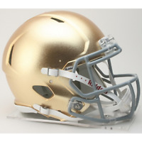 NOTRE DAME FIGHTING IRISH NCAA Riddell SPEED Authentic Football Helmet Hydroskin