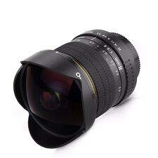 8mm F/3.5 Ultra Wide Fisheye Lens for Nikon D800 D700 D3200 D5200 D7200 D90 DSLR