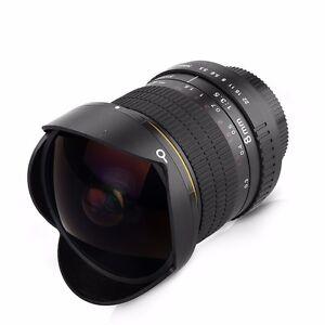 8mm F/3.0 Ultra Wide Fisheye Lens for Nikon D800 D700 D3200 D5200 D7200 D90 DSLR