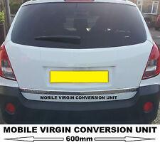 Unité de conversion vierge mobile autocollant voiture decal comme vu dans comédie Inbetweeners 2