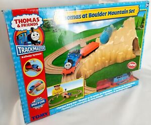 Tomy -  Thomas & Friends  Trackmaster - Thomas At Boulder Mountain Set
