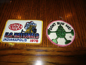VINTAGE NHRA 1978 US NATIONALS   INDIANAPOLIS DRAG RACE PATCH