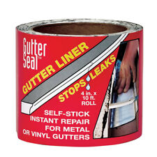 Gutter Seal Aluminum Gutter Seal Liner Clear 4 in. H x 10 ft. L x 4 in. ..