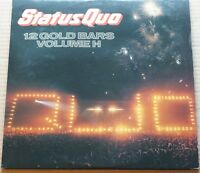 Rare Status Quo 12 Gold Bars Volumes 1 and 2 Gatefold on Vertigo Mint Discs